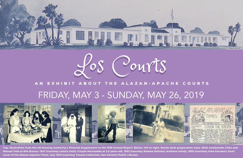 Los Courts: An Exhibit about The Alazan-Apache Cou...
