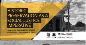Historic Preservation as a Social Justice Imperative