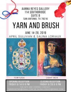 Yarn and Brush Art Opening