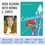 Cabañuelas Book Reading with Norma E. Cantú