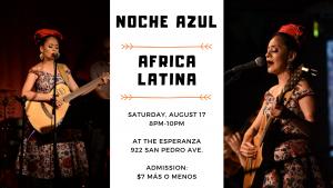 Noche Azul de Esperanza: Africa Latina