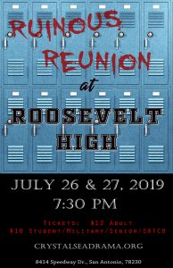 """Ruinous Reunion at Roosevelt High"""