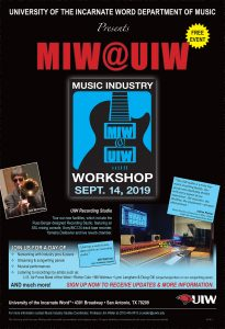 Music Industry Studies Program, UIW Department of ...
