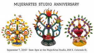 MujerArtes Studio Anniversary
