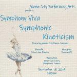 Alamo City Performing Arts Presents Symphony Viva's Symphonic Kinecticism