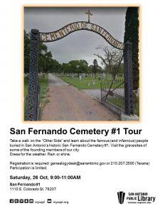 San Fernando Cemetery #1 Tour