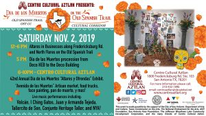 Día de Los Muertos on The Old Spanish Trail featuring Altares y Ofrendas