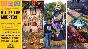 Dia de los Muertos Celebration con Esperanza