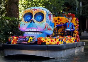 Catrinas on the River Parade