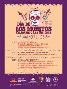 Dia de los Muertos Celebrando Las Misiones