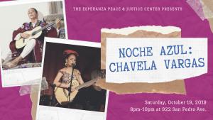 Noche Azul de Esperanza: Chavela Vargas