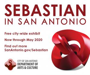 Sebastian in San Antonio: 50+ Years / 20+ Sites / 100+ Works