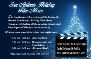 San Antonio Holiday Film Mixer