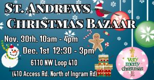 St. Andrews Christmas Bazaar