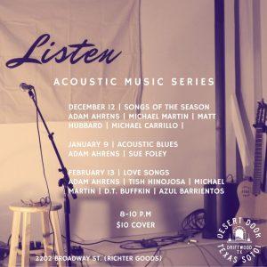 Listen Acoustic Music Series