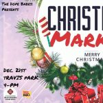 Christmas Market in Travis Park