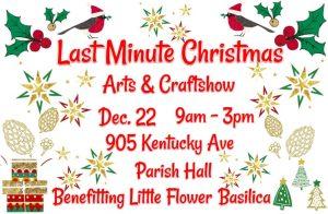 Last Minute Christmas Arts & CraftShow