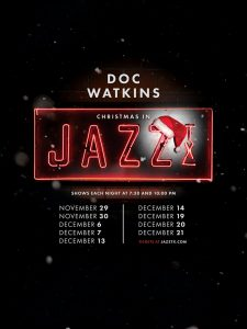 Christmas in Jazz, TX with Doc Watkins and his Orchestra