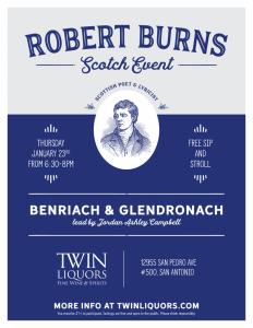Twin Liquors - Robert Burns Scotch Event