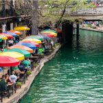Dyeing of the River Walk Green