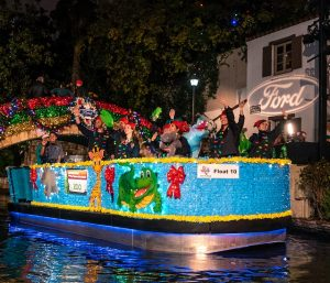 Ford Holiday River Parade