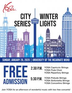 YOSA City Series 2: Winter Lights