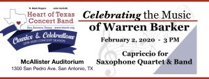 Heart of Texas Concert Band- Celebrating the Music...