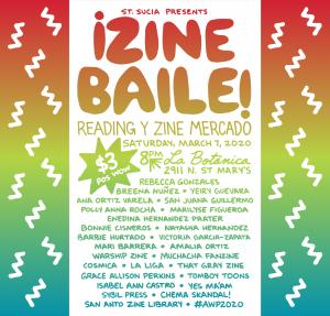¡Zine Baile! Reading y Zine Mercado #AWP20