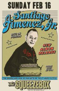 Santiago Jiménez Album Launch Party at The Squeezebox