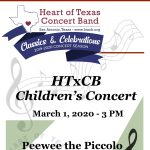 Heart of Texas Concert Band Children's Concert 2020