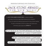 The Jack Stone Award for New Music - Tetractys