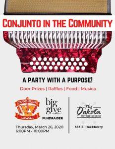 Conjunto in the Community: Big Give Fundraiser
