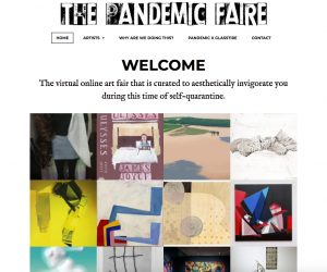 A Digital Art Fair for Texas Art: The Pandemic Faire