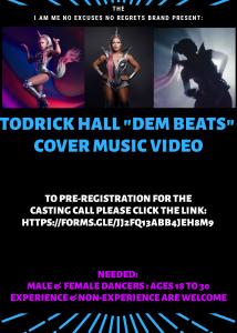 Dem Beats Cover Video Casting Call