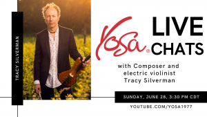 YOSA Live Chats with Tracy Silverman