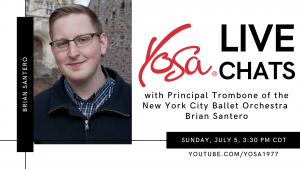 YOSA Live Chats with Brian Santero