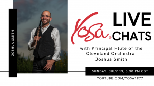 YOSA Live Chats with Joshua Smith