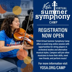 2020 Virtual Summer Symphony Camp