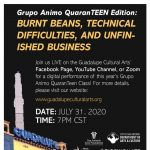 Grupo Animo QuaranTEEN Edition: Burnt Beans, Technical Difficulties, and Unfinished Business