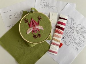 Embroidery Workshop with Sarah Fox