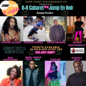 8 X 8 Cabaret Du Jump En Noir