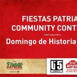 Fiestas Patrias Community Content: Domingo de Historia y Arte