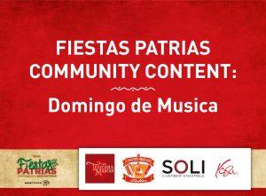 Fiestas Patrias Community Content: Domingo de Musi...