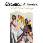Teletextile: Artemisia - COVID Care Package by Pamela Martinez