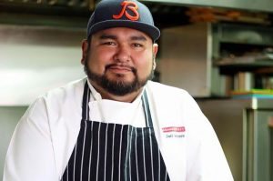 "Conversation with local Chef, Joel ""Tatú"" Herrera"
