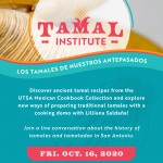 Tamal Institute: Los Tamales de Nuestros Antepasados