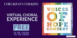 Voices of Hope- Children's Chorus of San Antonio Virtual Performance