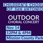 Voices of Hope- Children's Chorus of San Antonio Outdoor Concert Event