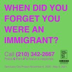 "Sanctuary City Project: ""When did you forget you were an immigrant?"""