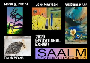 San Antonio Art League & Museum Invitational Exhibit-Meet the Artist